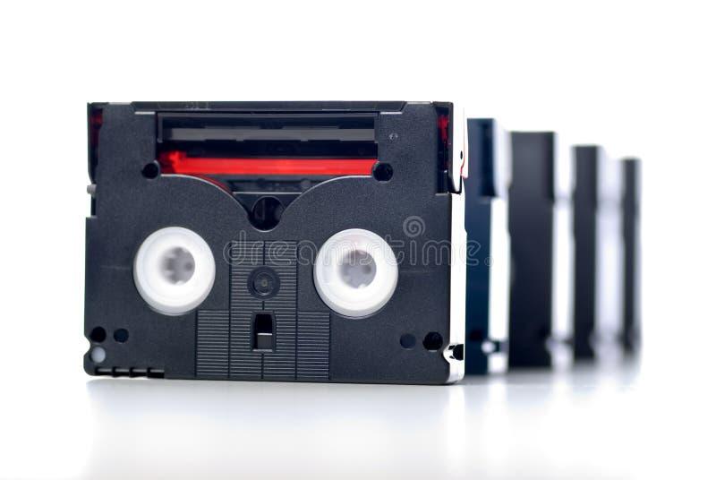 Mini-DV Band stockbild