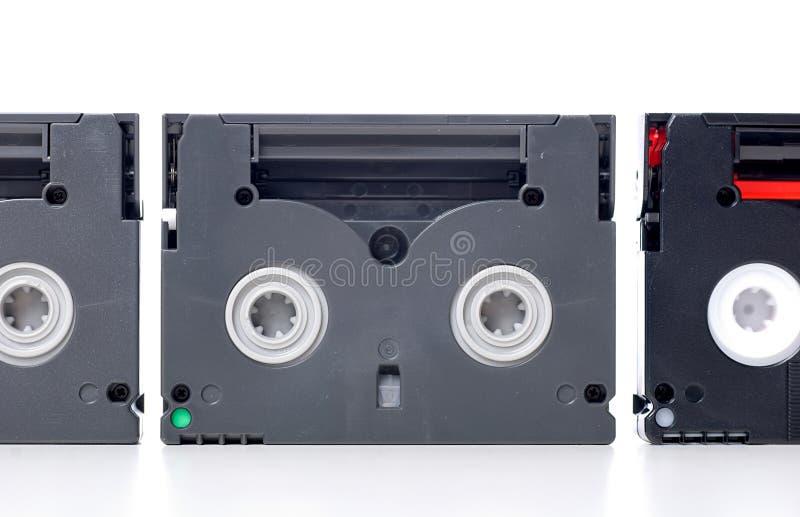 Mini DV tape royalty free stock photo