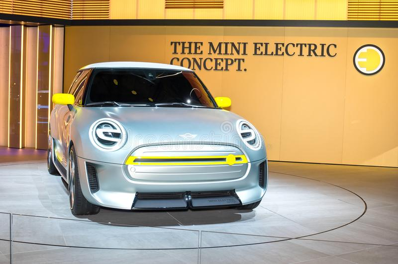 Mini Electric Concept royalty free stock photography