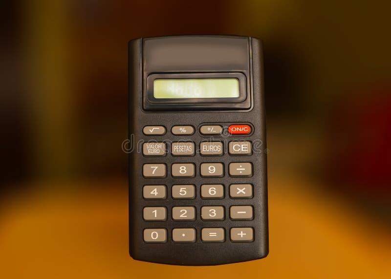 Mini Electronic Calculator royalty-vrije stock foto