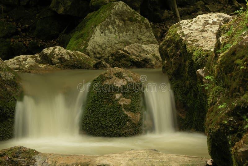 Mini Falls royaltyfri foto