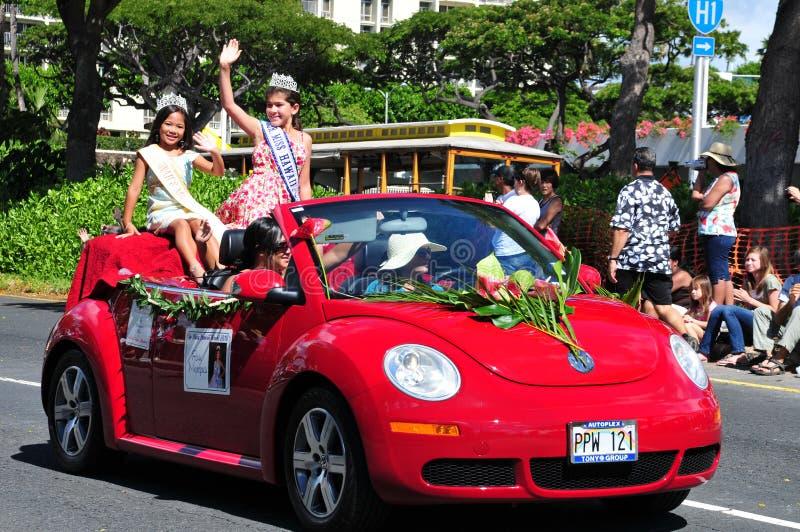 Mini festivals 2010 de Hawaïen de coup manqué aloha aloha images stock