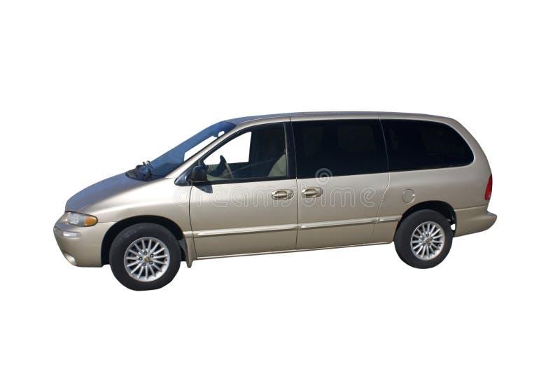 Download Mini furgone beige fotografia stock. Immagine di bianco - 7317370