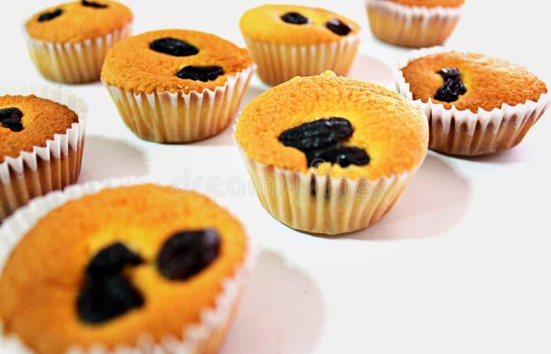 Mini gâteau d'oeufs photographie stock