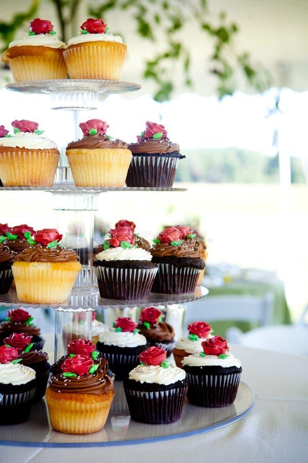 Mini gâteaux images libres de droits