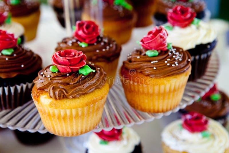 Mini gâteaux image libre de droits