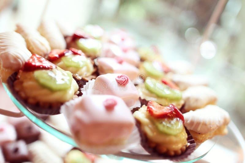 Mini gâteaux photo libre de droits