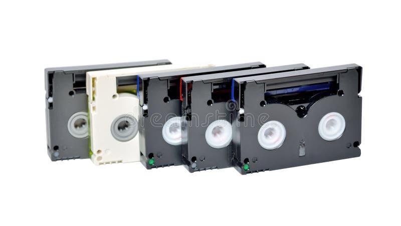 Mini gavetas de DV foto de stock royalty free