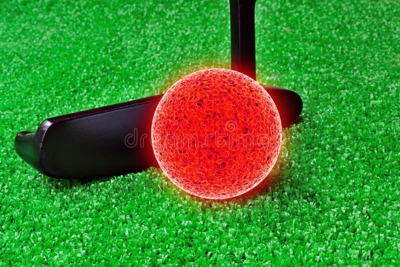Mini golf immagini stock