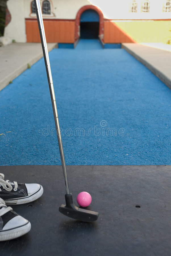 Download Mini Golf stock photo. Image of swing, spring, shoes, hole - 6438004