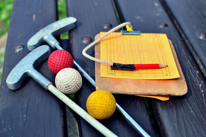 Mini Golf royaltyfri bild
