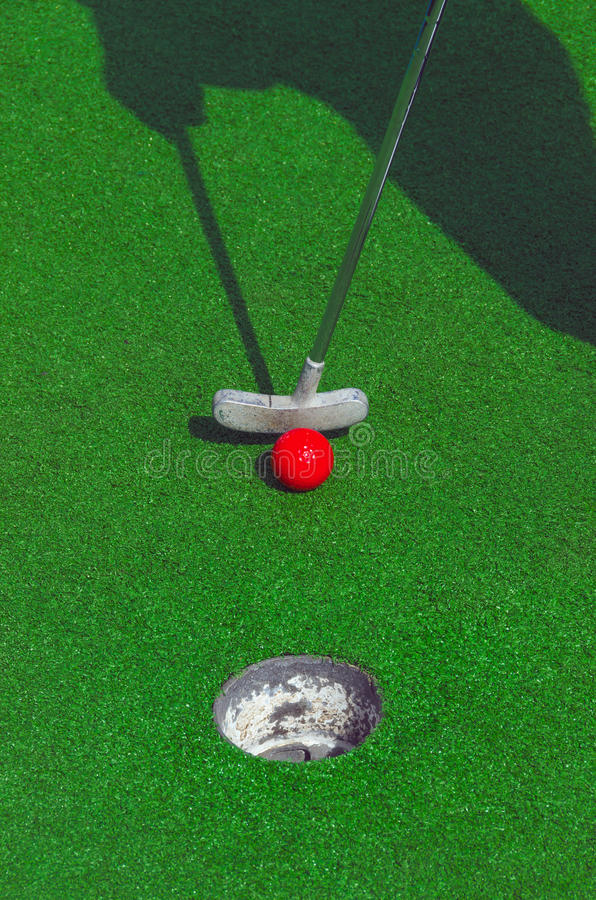Download Mini golf stock image. Image of golfing, entertainment - 42481299