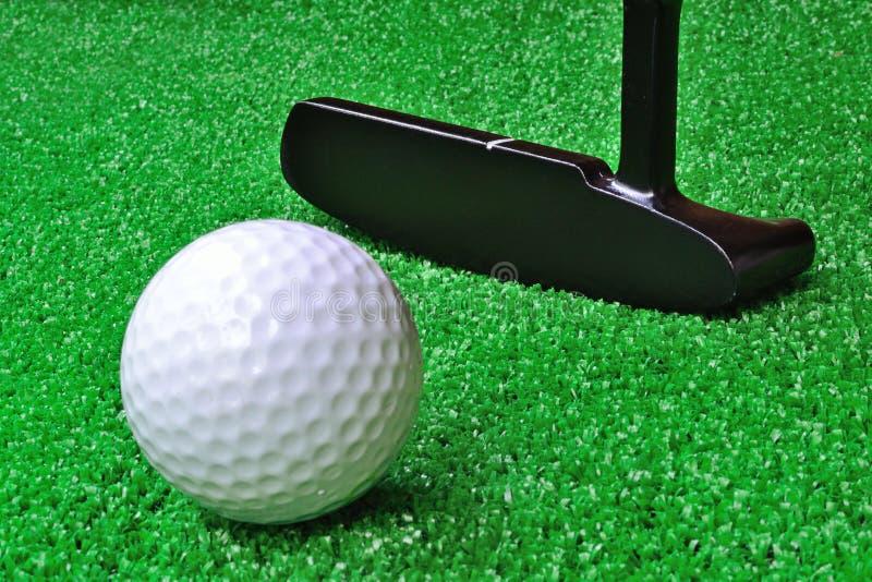 Mini golfe imagem de stock