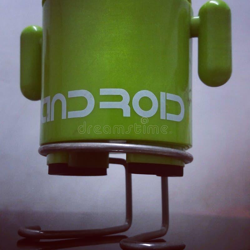 Mini grüner Samsung Sprecher Androids lizenzfreies stockbild