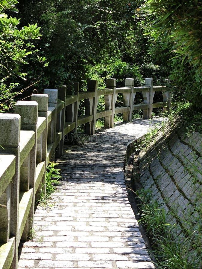 Mini Great Wall i Cheung Chau Island arkivfoto