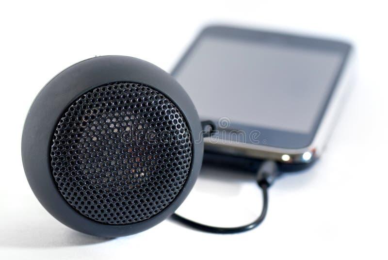 Mini haut-parleur photographie stock libre de droits