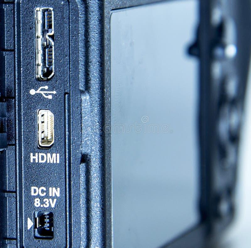 Mini HDMI imagem de stock royalty free