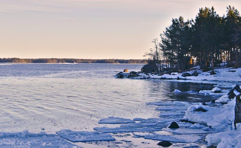 Mini icebergs se cassant loin photographie stock libre de droits