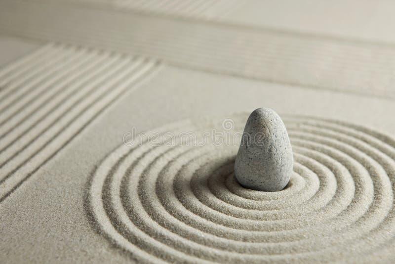 Mini jardim do zen imagens de stock royalty free