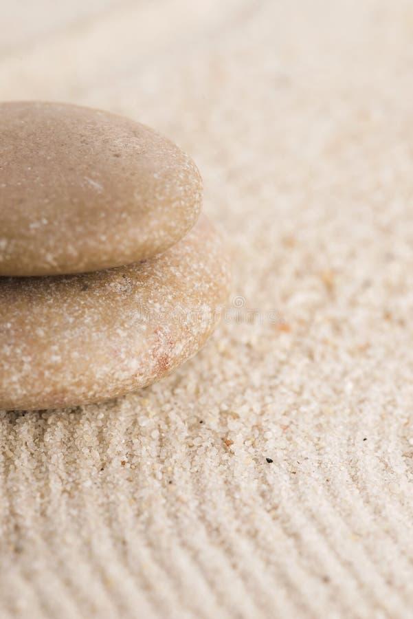 Mini jardin de zen photographie stock libre de droits