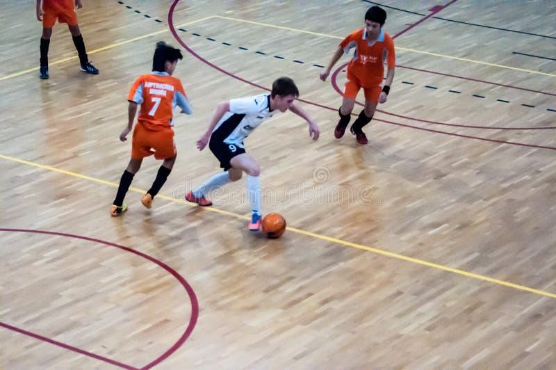Mini jogo de futebol imagem de stock