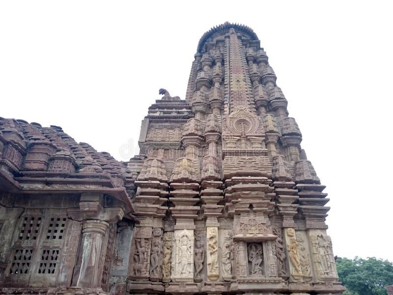 Mini Khajuraho tempel, Bhilwara, Rajasthan royaltyfria foton