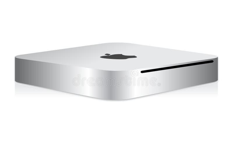 mini komputer Apple mac royalty ilustracja
