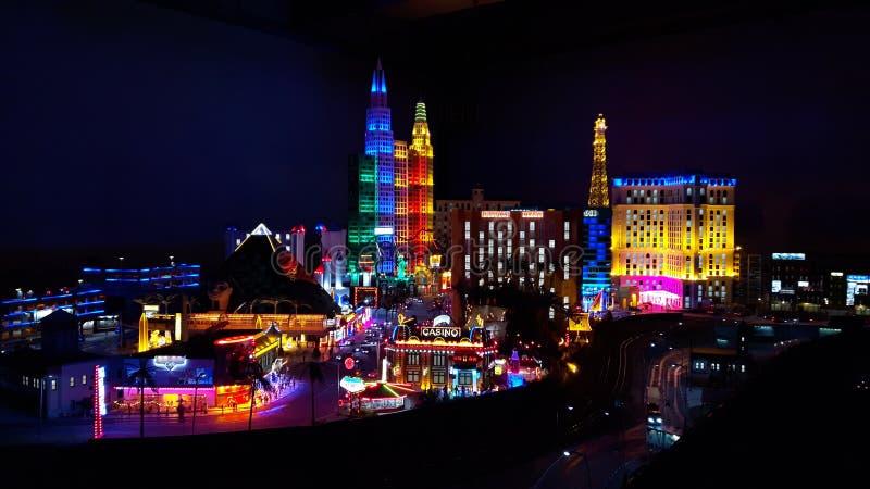 Mini Las Vegas arkivbilder