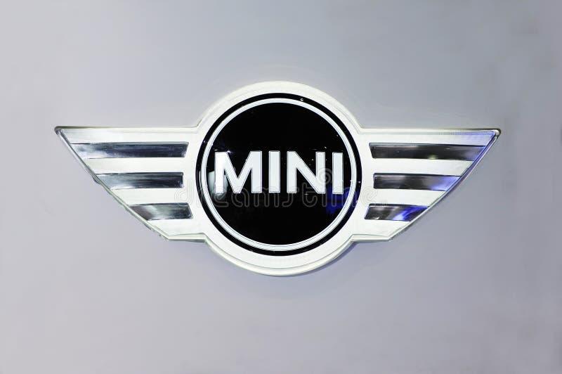 Mini logo stock photo
