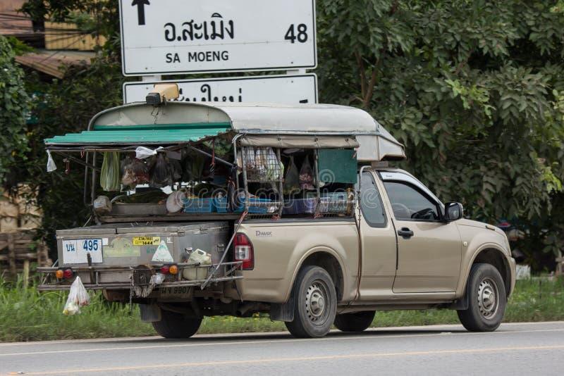 Mini Market på pickupet arkivfoton