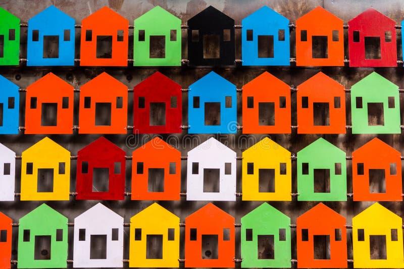 Mini modèles de maison images stock