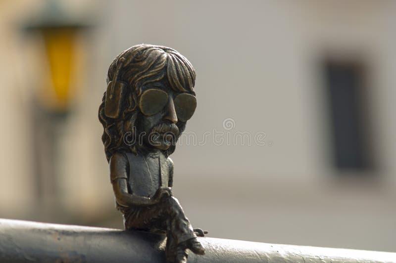 Mini monumento Jon Lord Deep Purple fotografia stock libera da diritti