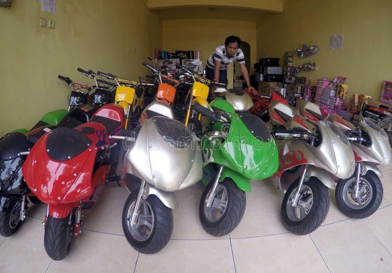 Mini motocicleta fotos de archivo