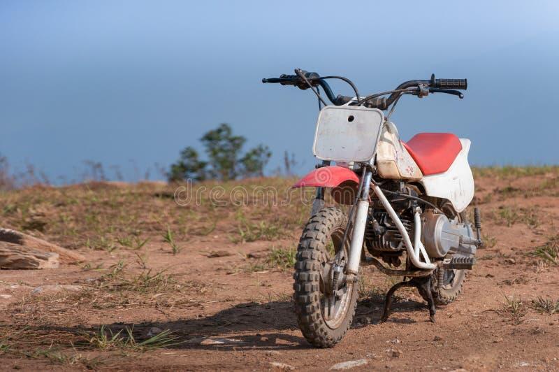 Mini motocicleta del enduro imagen de archivo libre de regalías
