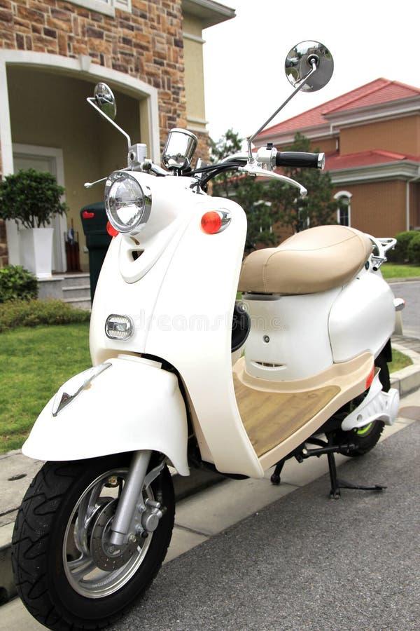 Mini motorfiets royalty-vrije stock afbeeldingen