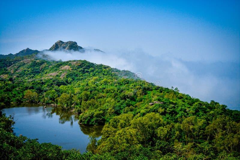 Mini Nakki Lake Mount Abu Rajasthán fotografía de archivo