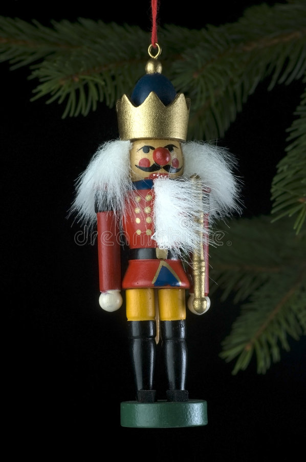 Mini Nutcracker stock images