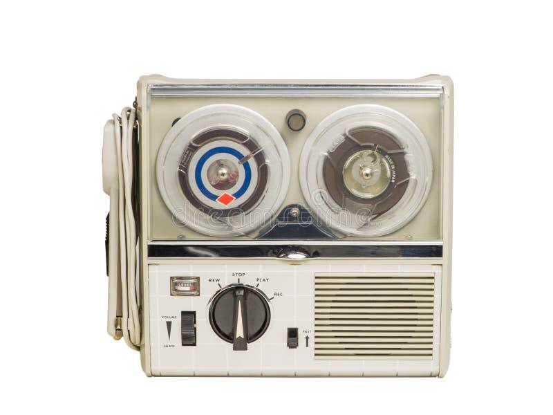 Mini Old Tape Recorder 02 fotografia stock