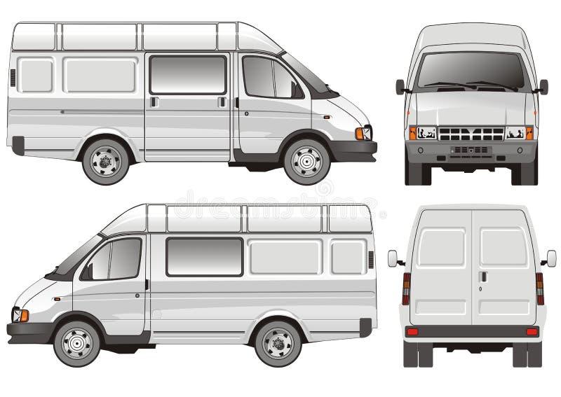 Mini omnibus stock de ilustración
