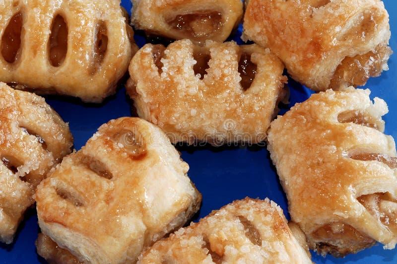 Mini pâtisseries soufflées image libre de droits