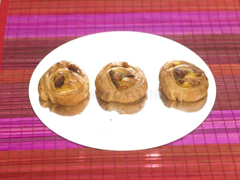 Download Mini Pains aux raisins stock photo. Image of color, pastries - 23705836