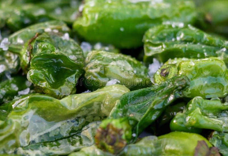 Mini-Paprika as a appetizer stock images