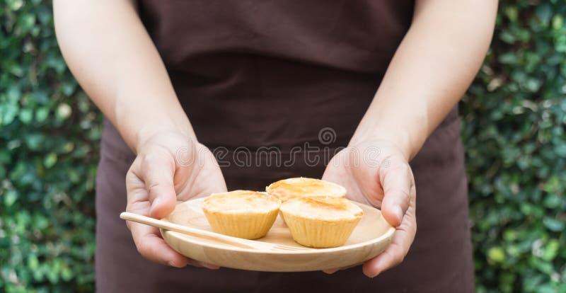 Mini partido delicioso más tartlest con el atasco de la fruta fotos de archivo libres de regalías