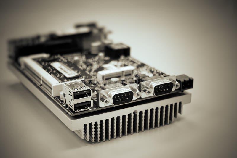 Mini- PC royaltyfri fotografi