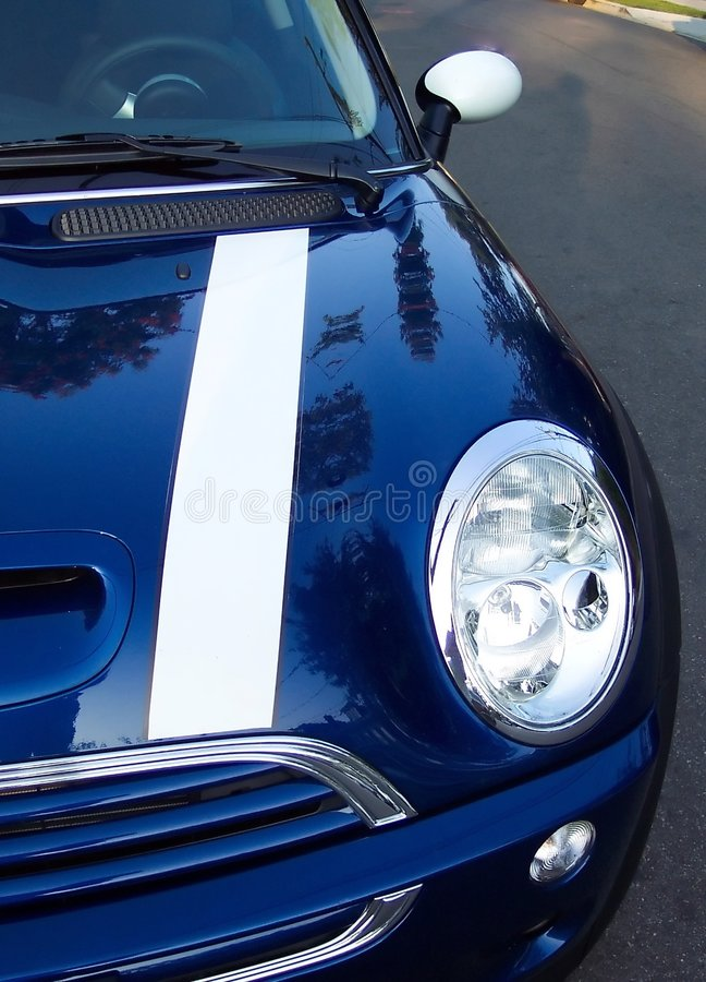 Mini - piloto azul imagens de stock