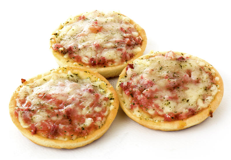 Mini pizza images stock