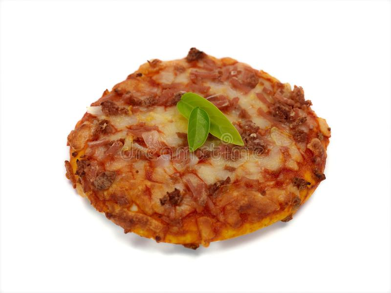Download Mini Pizzas stock image. Image of food, cheese, crust - 14523023