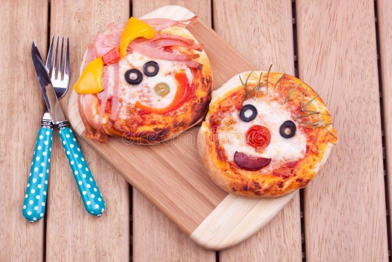 Mini pizze obrazy royalty free