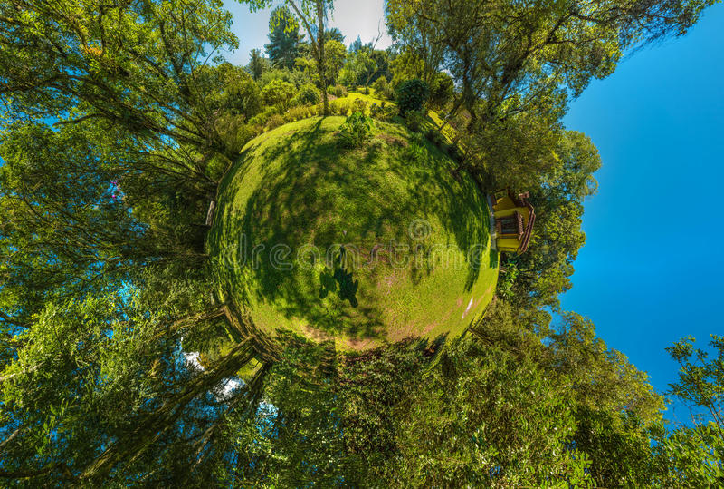Mini Planet fotografia stock