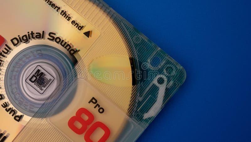 Mini primo piano del disco immagini stock libere da diritti